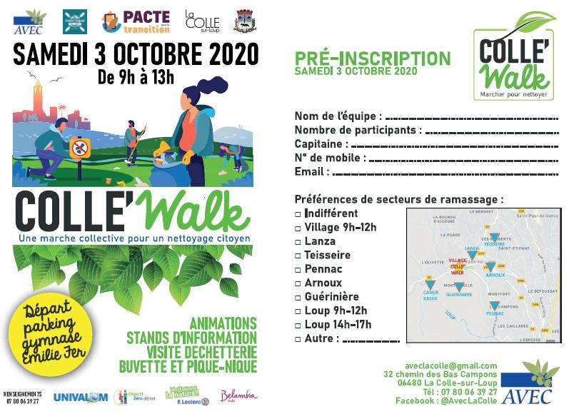 Colle'Walk – Samedi 3 octobre